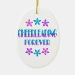 Cheerleading Forever Ornaments