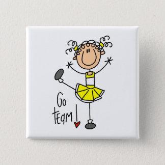 Cheerleading Gift Button