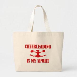 Cheerleading is my Sport Tote bag