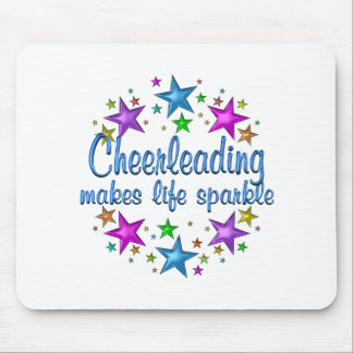 Cheerleading Makes Life Sparkle Mouse Pad