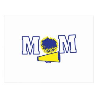 Cheerleading Mom Postcard
