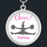"""Cheerleading Necklace<br><div class=""""desc"""">Give your cheerleader this fun and customizable  &quot;Cheerleading Necklace&quot;.</div>"""