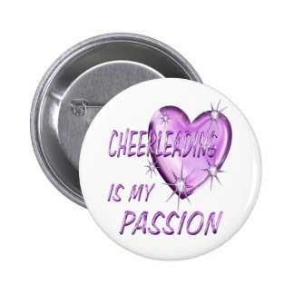 CHEERLEADING PASSION PINBACK BUTTONS