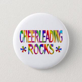 Cheerleading Rocks Button