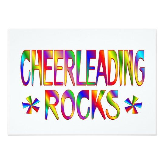 Cheerleading Rocks Card