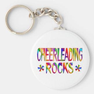 Cheerleading Rocks Key Chain