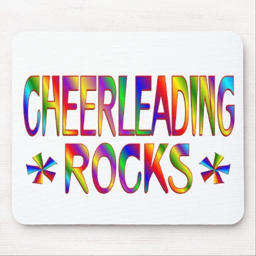Cheerleading Rocks Mouse Pad