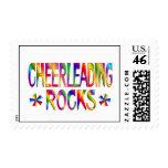 Cheerleading Rocks Postage
