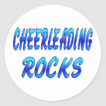 CHEERLEADING ROCKS STICKERS