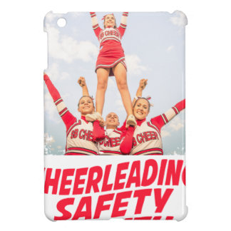 Cheerleading Safety Month - March iPad Mini Cover