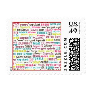 Cheerleading Sayings US Postage Stamp
