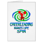 Cheerleading Spins Cards