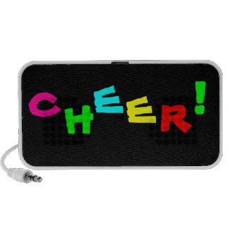Cheerleading Sport Doodle Speaker