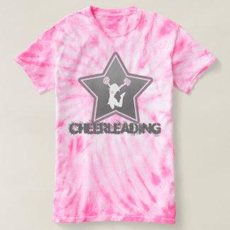 Cheerleading Star Tie-Dye T-Shirt