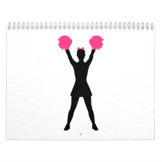 Cheerleading woman calendars