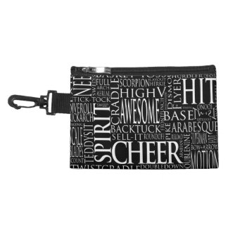 Cheerleading Word Cloud Accessory Bag