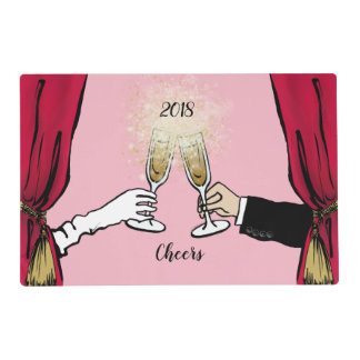 Cheers 2018! placemat