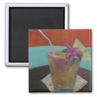 """""""Cheers"""" 2 Inch Square Magnet"""