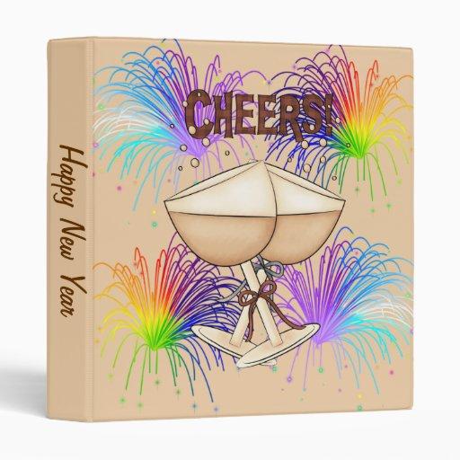 Cheers 3 Ring Binders