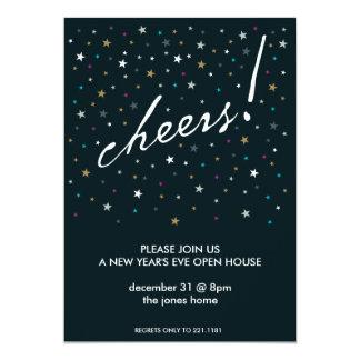 Cheers! 5x7 Paper Invitation Card