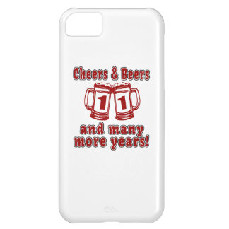 Cheers And Beers 11 Years Cover For iPhone 5C