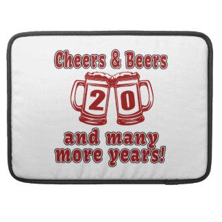 Cheers And Beers 20 Years Sleeves For MacBooks