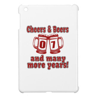 Cheers And Beers 7 Years Case For The iPad Mini