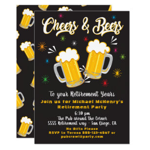 beer party invitations zazzle
