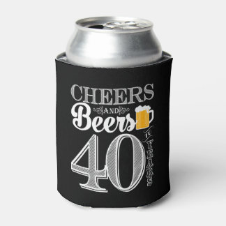 Cheers and Beers to 40 Years Can Cooler