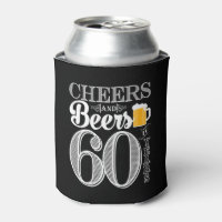 Cheers and Beers to 60 Years Can Cooler