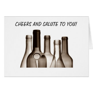 CHEERS AND SALUTE TO YOU / FANTASTIC BIRTHDAY CARD