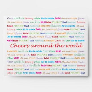 CHEERS_around the world Envelope