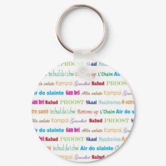 Cheers_Around The World keychain