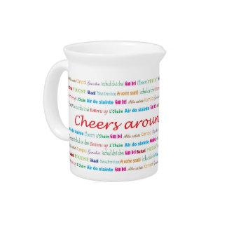 Cheers_Around The World_multi-language Beverage Pitchers