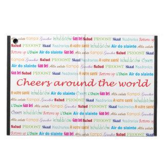 Cheers_Around The World_multi-language iPad Air Case