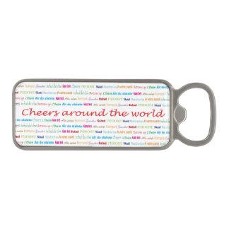 Cheers_Around The World_multi-language Magnetic Bottle Opener