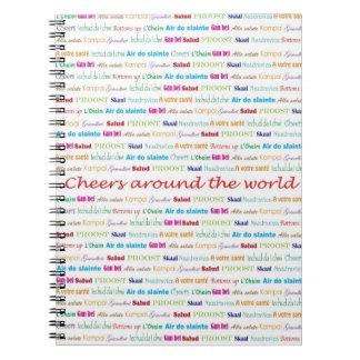 Cheers_Around The World_multi-language Notebook