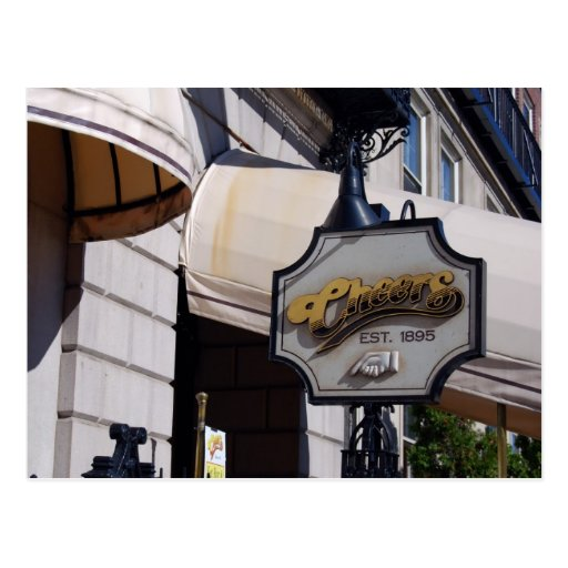 Cheers Bar, Boston Postcards