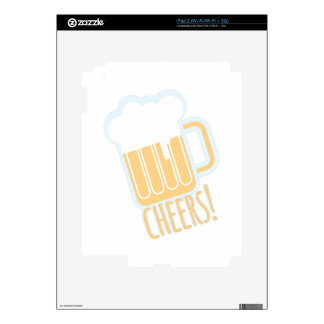 Cheers Beer Decals For The iPad 2