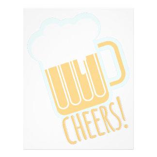 Cheers Beer Letterhead