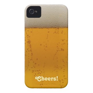 Cheers! Beer themed iPhone 4 case