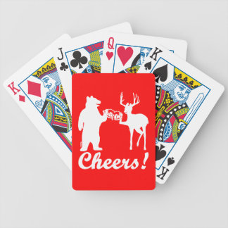 Cheers ! bicycle playing cards