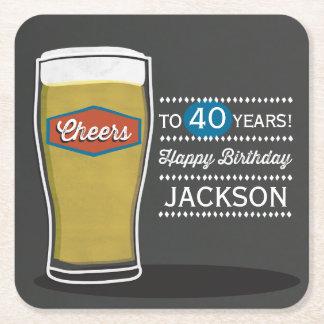 Cheers Birthday Coaster