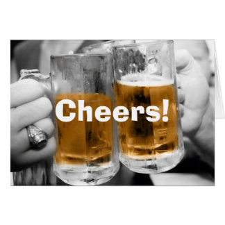 Cheers! Card With Text