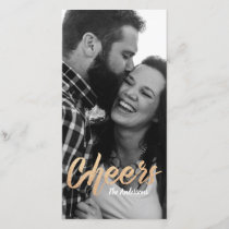 Cheers Christmas Card template