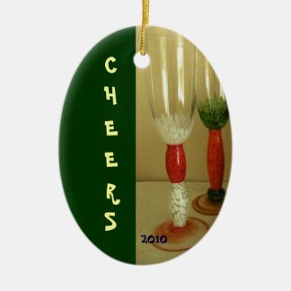 CHEERS Christmas Ornament