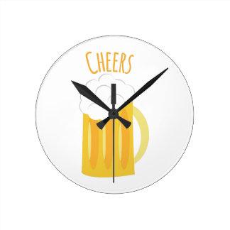 Cheers Round Clocks