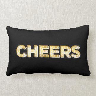 Cheers Cushion in Black