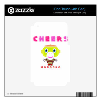 Cheers-Cute Monkey-Morocko Skin For iPod Touch 4G