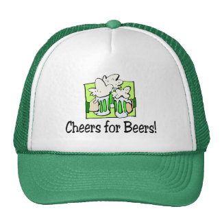 Cheers For Beers St Patty Day Trucker Hat